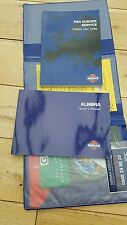 Nissan Almera N15,owners book pack,wallet manual and period dealer guide.