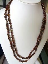 Honora Geniune Fresh Water Cultured Bronze Colors Pearl Strand 60 Inches