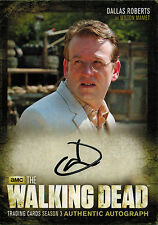 Walking Dead Season 3 Part 2 Dallas Roberts as Milton A15  Auto/Autograph Card