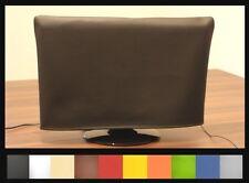 Schutzhaube f. alle TV - Geräte aus Kunstleder - alle Größen in 10 Farben