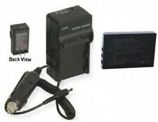 Battery + Charger for Sanyo DMXHD2000GX DMXTH1 VPC-TH1BL DMX-FH11 DMX-HD2000