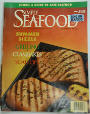 Simply Seafood Magazine Summer Sizzle Clambakes And Scallops Summer 1992 052515R