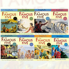 Enid Blyton Famous Five Series 8 Books Set (1 To 8) Paperback  English