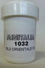 MINITALIA MODELTRENO COLORE  BLU ORIENTALE FS art. MI 1032