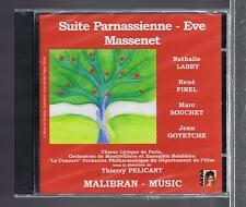 MASSENET CD NEW SUITE PARNASSIENNE /EVE/ THIERRY PELICANT
