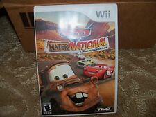 Cars Mater-National  (Wii, 2007) EUC