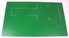 Lego Green Baseplate - from Police 370 HQ Vintage from 1976 White dots Excellent