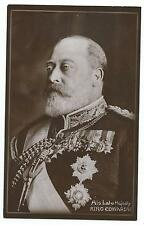 "ROYALTY - KING EDWARD VII ""His Late Majesty"" Davidson Bros. Real Photo Postcard"