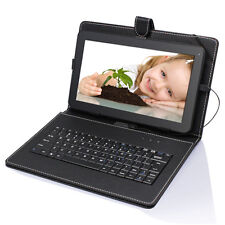 "16gb 10.1"" Android 4.4 Quad-Core Touch Screen Tablet PC WIFI HDMI W 10"" Keyboard"