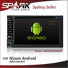 ANDROID GPS DVD SAT NAV IPOD BLUETOOTH FOR NISSAN NAVARA D22 D40 X-TRAIL XTRAIL