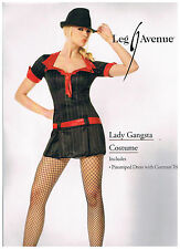 LEG AVENUE HALLOWEEN COSTUME  LADY GANGSTA SIZE S  NEW