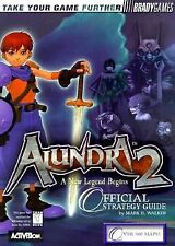 Alundra 2 Official Strategy Guide by BradyGames BOOK