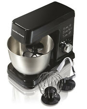Hamilton Beach 300W 6 Speed 3.5 Quart Countertop Stand Mixer, Black | 63325