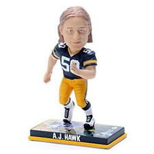 Green Bay Packers A.J. Hawk Forever Collectibles Photo Base Bobble Head
