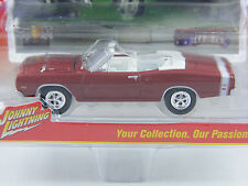 Dodge Coronet R/T 1969 in dunkelrot,Johnny Lightning Muscle Cars USA Rel.1, 1/64