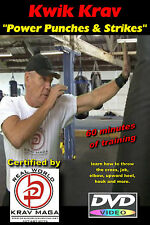 """Power Punches & Strikes"" Plus ""Conditioning & Krav Maga Practice Drills"", DVD's"