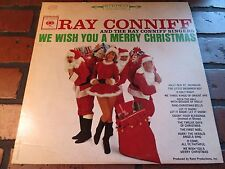 RAY CONNIFF We Wish You A Merry Christmas LP Record Album Vinyl