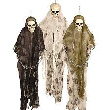 3ft Halloween Skeleton Monster Prisoner Ghost Yard Hanging Spooky Decoration