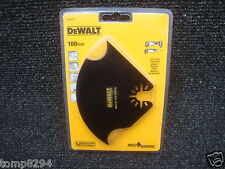 DEWALT DT20712 100MM MULTI MATERIAL BLADE FOR OSCILLATING MULTI TOOL DCS355