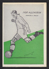 Master Vending - Cardmaster Football Tips 1958 - # 4 Allchurch - Swansea