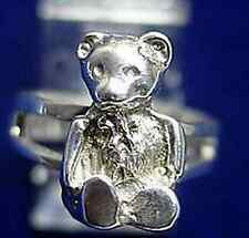 LOOK Adorable Teddy bear ring sterling silver Jewelry