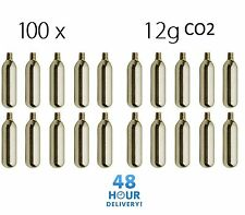 100 x MOSA 12g Co2 Gas Capsule Cartridge Air Rifle Pistol Gun Airgun 12 Gram
