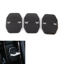 Protective Lock Safety Trim Cover Striker Kit for Jeep Wrangler 2008-15 2 Door