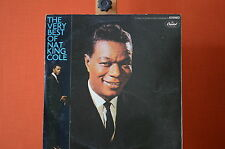 The very best of Nat King Cole Capitol 23484  LP VG++  1511