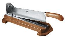 Piazza - Coltello pane con base in legno Bread cutter