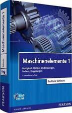 Maschinenelemente 1 von Berthold Schlecht, 2. Auflage, Gebunden