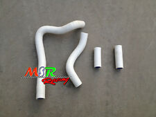 silicone radiator hose for 1992-1996 CR250 CR250R HONDA 92 93 94 95 96 white