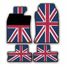 MINI ONE COOPER D S 2001 - 11/2006 GUMMIMATTEN UNION JACK  R50-R53