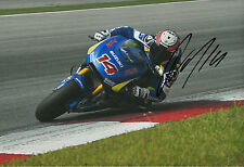 Randy de Puniet Hand Signed Suzuki MotoGP 2014 12x8 Photo 4.