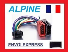 CABLE ISO AUTORADIO ALPINE 16PIN FAISCEAU COMPLET CDE-9841R 9843RM 9845RB 9846R