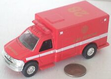 """Diecast Red Fire Rescue Truck 4.5"""" New Condition"""
