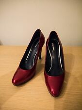 Gino Rossi Red High Heels Shoes size 6