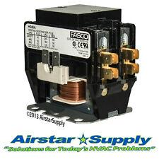 Trane Contactor Relay 40 Amp 2 Pole 24 Volt D70637.021 X13060035367