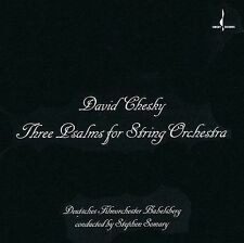 David Chesky: Three Psalms for String Orchestra by David Chesky (CD,...(cd4001)