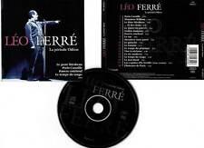 """LEO FERRE """"La Période Odéon"""" (CD) 1997"""