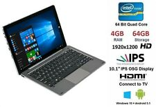 "Chuwi hi10 10.1"" Pro Tablet PC con Tastiera Windows 10 + Android 4gb RAM 64gb"