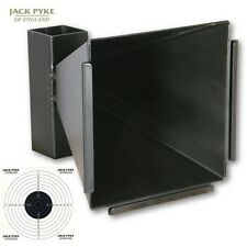 JACK PYKE CONE PELLET CATCHER 10 PAPER TARGETS RIFLE OUTDOOR SHOOTING BB RIFLE