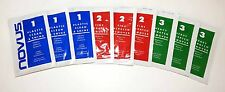 Combo Sample 3 Packs Each of Novus 3, 2 and 1 Scratch Remover & Polish