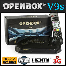 NEW GENUINE OpenBox V9S HD Satellite Receiver Box - BUILT-IN WIFI - v8s upgrade