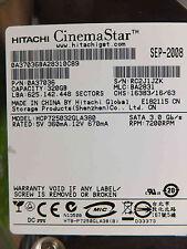 320 GB HITACHI hcp725032gla380 sep-08 MLC: ba2831 | p/n:0a37036 | disco rigido