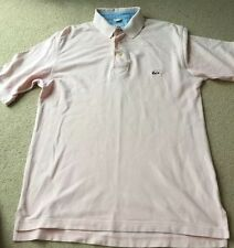 Men's Polo Style Type T Shirt By Cutter & Buck In Pink Size S/P Chest 42 Cotton