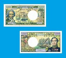 French Pacific Territories 500 francs. UNC - Reproductions