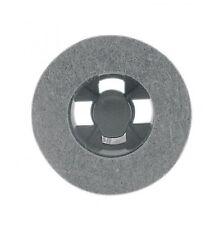 Spazzola feltro per lucidatrice senza ancorine di fissaggio mm130 disco feltro