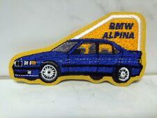 Aufnäher Aufbügler Patch BMW Alpina - 6 x 11 cm