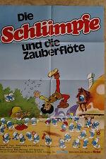 (P157) KINOPLAKAT Die Schlümpfe und die Zauberflöte (1976)