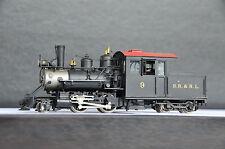 TRAIN & TROOPER SR&RL Sn2-Scale 2-4-4T #9 Steam Engine F/P RARE